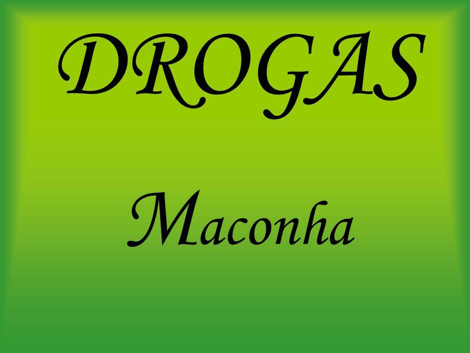 DROGAS M aconha