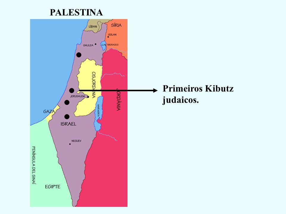 1º CONFLITO GUERRA DE INDEPENDÊNCIA DE ISRAEL (1948-49) Países Árabes (Egito, Síria, Jordânia, Líbano e Iraque) e povo palestino atacam Israel.