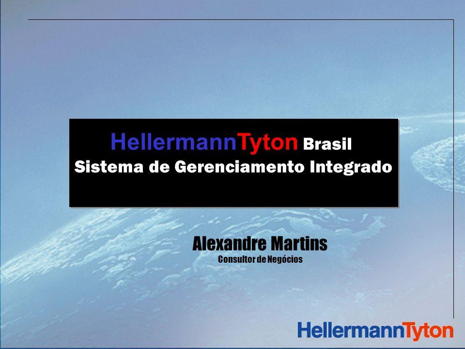 HellermannTyton Brasil Sistema de Gerenciamento Integrado HellermannTyton Brasil Sistema de Gerenciamento Integrado Alexandre Martins Consultor de Negócios