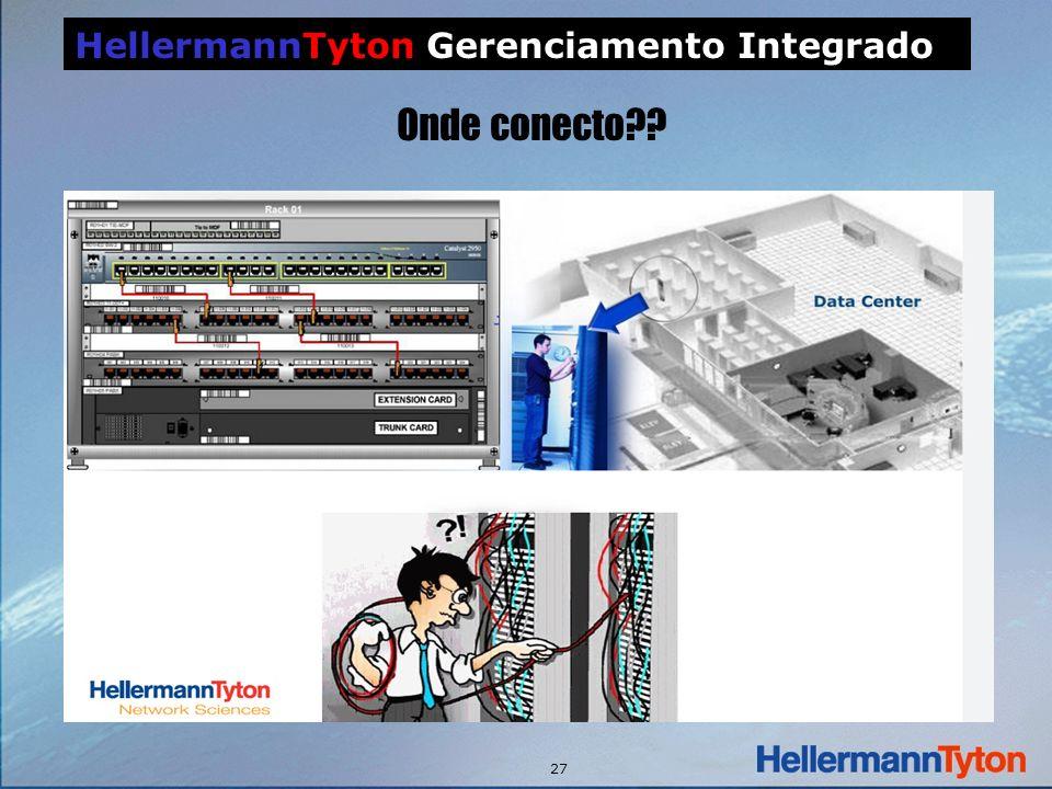 27 HellermannTyton Gerenciamento Integrado Onde conecto