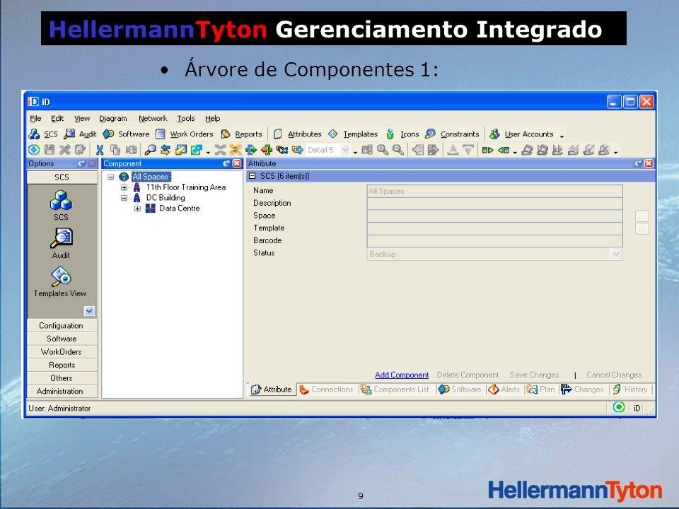 9 HellermannTyton Gerenciamento Integrado Árvore de Componentes 1: