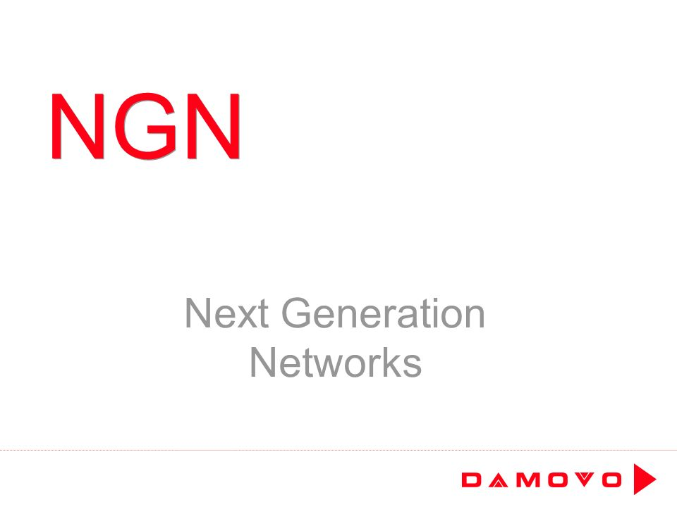 NGN Next Generation Networks