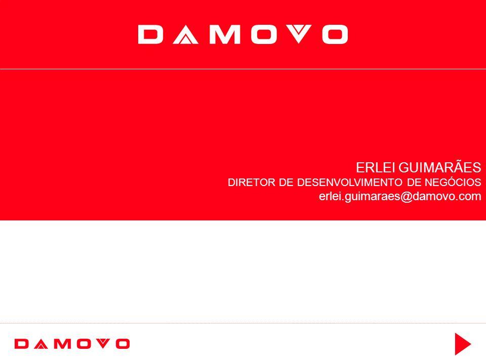 ERLEI GUIMARÃES DIRETOR DE DESENVOLVIMENTO DE NEGÓCIOS erlei.guimaraes@damovo.com