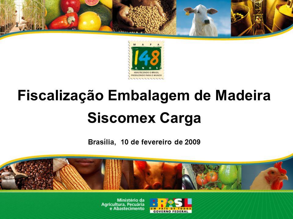 Coordenação Geral do Sistema de Vigilância Agropecuária Internacional Oscar de Aguiar Rosa Filho Fiscal Federal Agropecuário Coordenador Geral