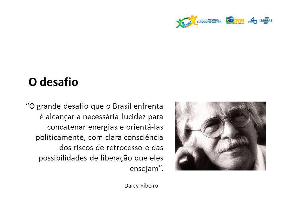 O grande desafio que o Brasil enfrenta é alcançar a necessária lucidez para concatenar energias e orientá-las politicamente, com clara consciência dos