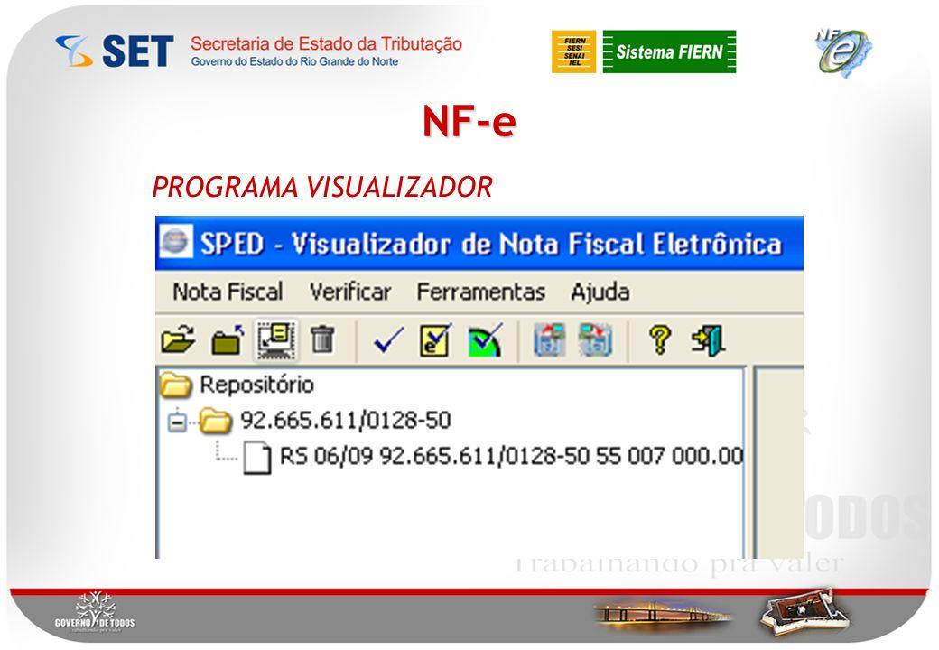 NF-e PROGRAMA VISUALIZADOR