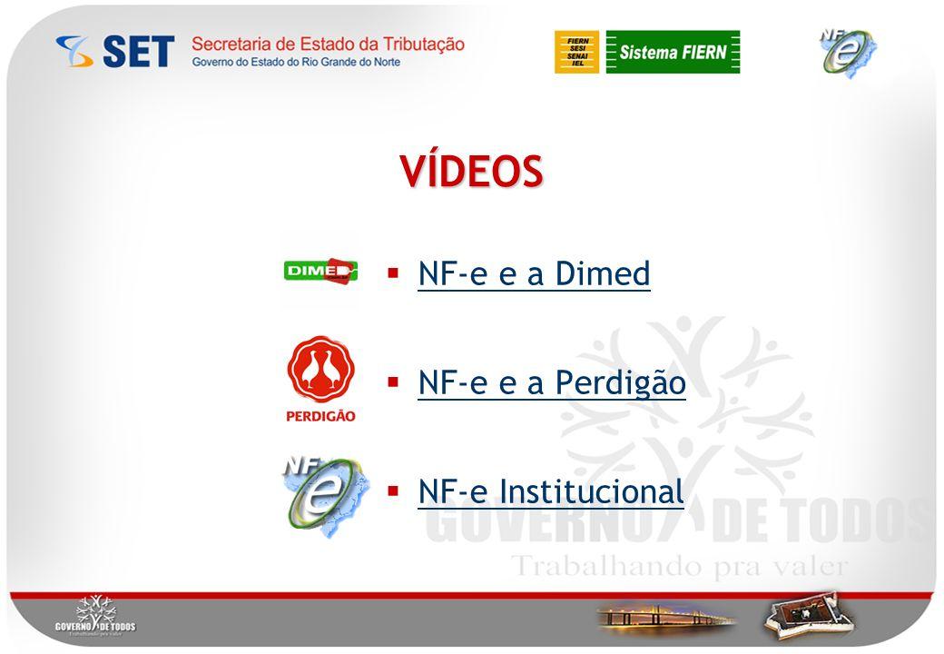 NF-e e a Dimed NF-e e a Perdigão NF-e Institucional VÍDEOS