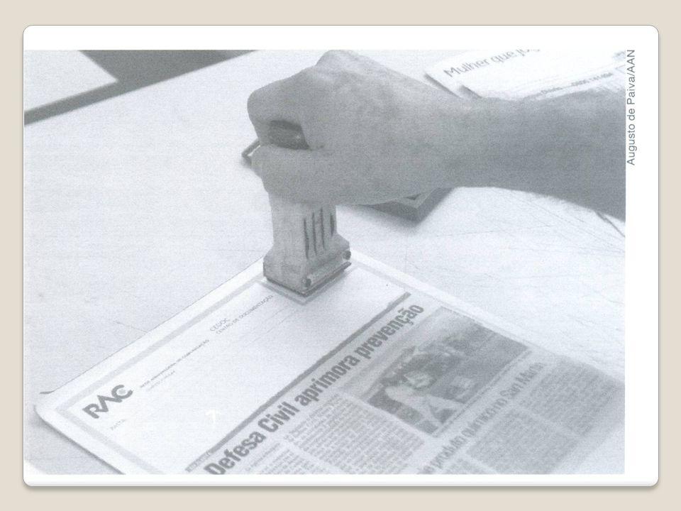 Procedimentos e cuidados básicos 9- Corte e colagem: a) Mantenha a estética na montagem, possibilitando facilidade de acesso às informações e cópias futuras.