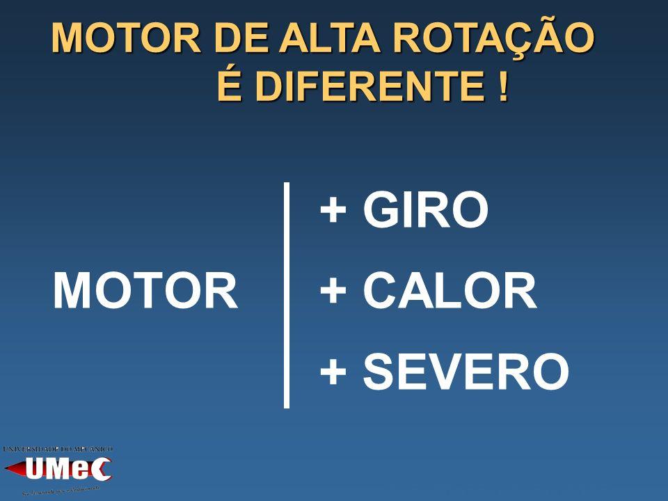 + GIRO MOTOR+ CALOR + SEVERO MOTOR DE ALTA ROTAÇÃO É DIFERENTE ! CARACT. DO NOVO MOTOR