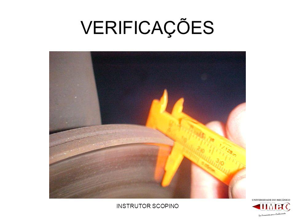 INSTRUTOR SCOPINO VERIFICAÇÕES