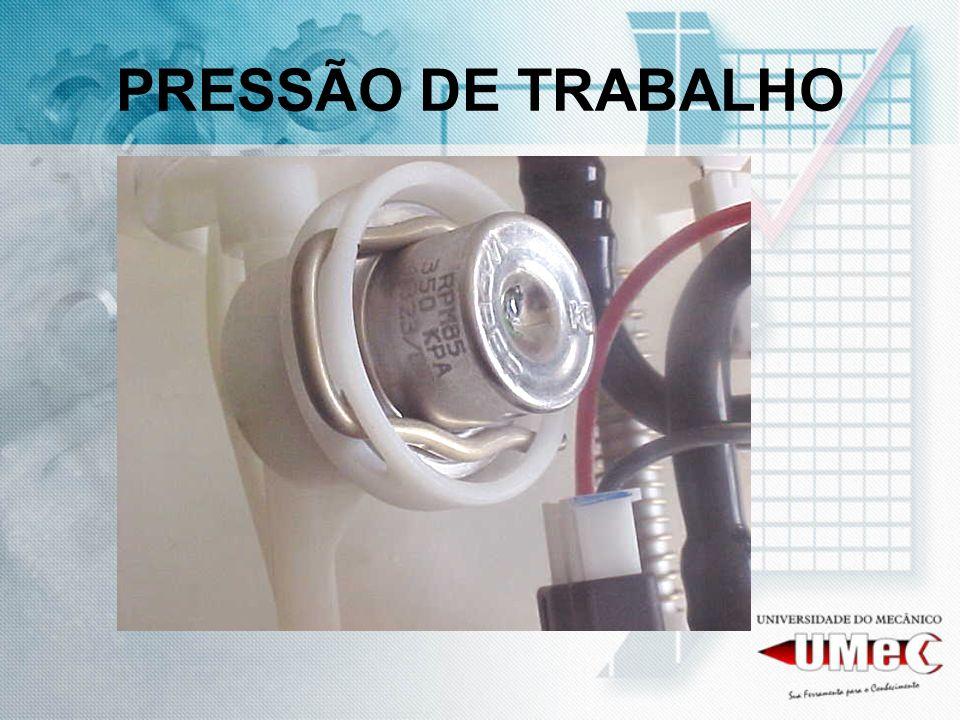 PRESSÃO DE TRABALHO