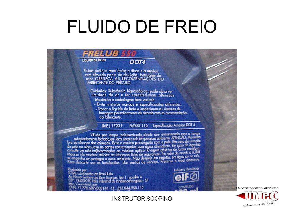 INSTRUTOR SCOPINO FLUIDO DE FREIO