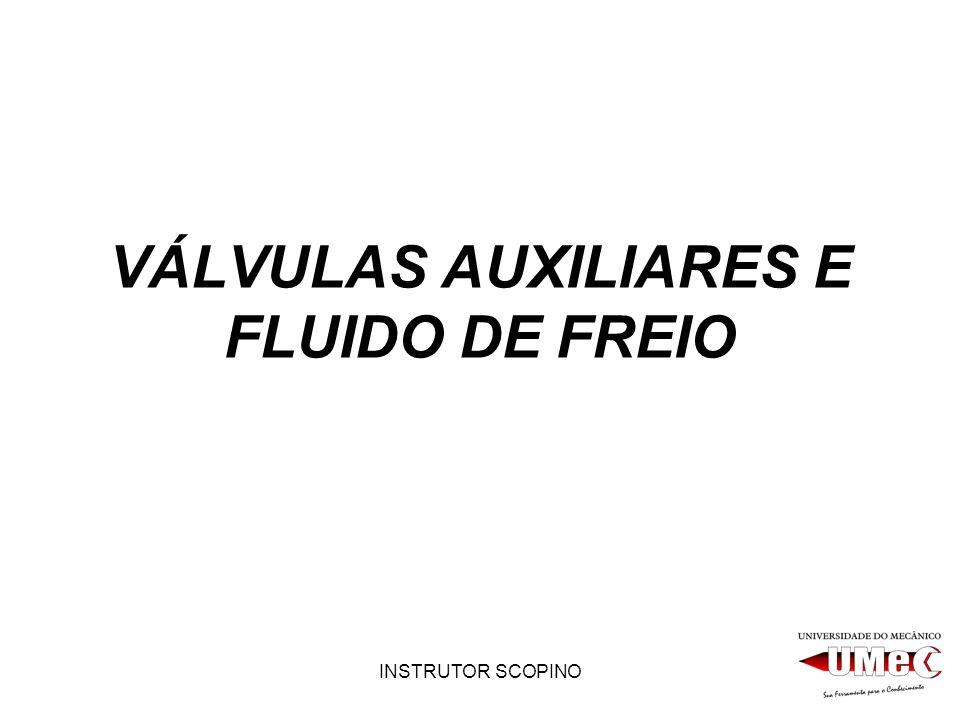 INSTRUTOR SCOPINO VÁLVULAS AUXILIARES E FLUIDO DE FREIO