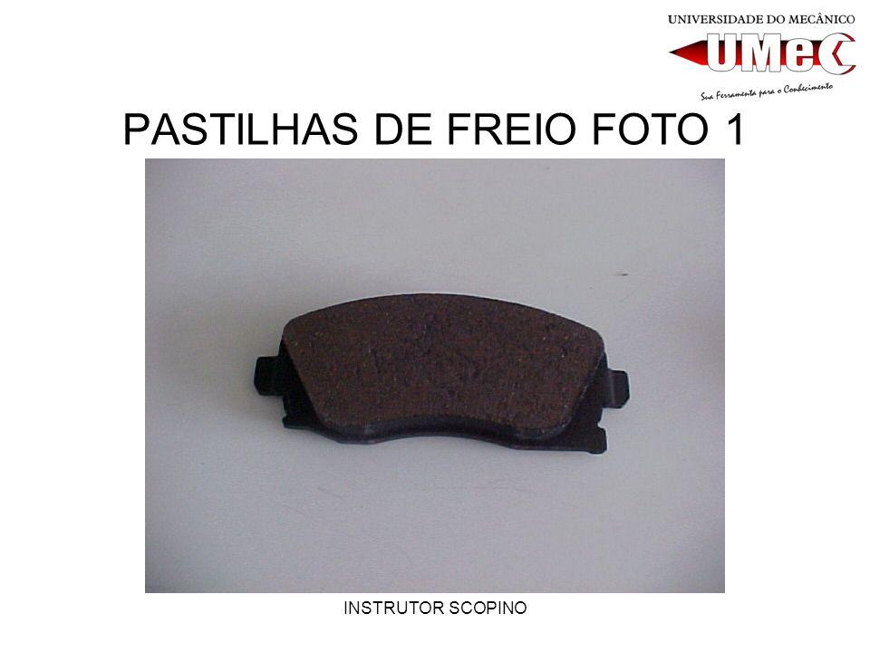 INSTRUTOR SCOPINO PASTILHAS DE FREIO FOTO 1