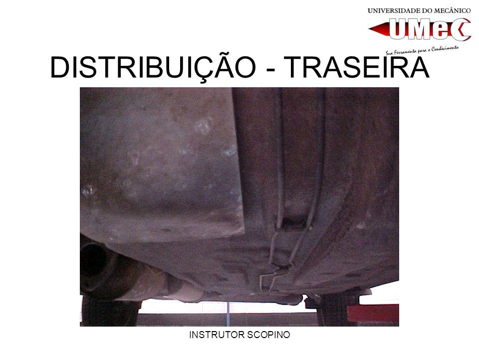 INSTRUTOR SCOPINO COEFICIENTE DE ATRITO O material e a área de contato das peças fixas do freio, por exemplo pastilhas e lonas, estão diretamente ligadas ao projeto original do veículo.