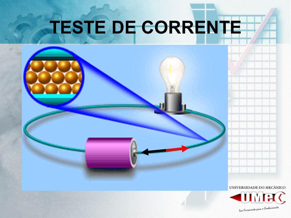 TESTE DE CORRENTE