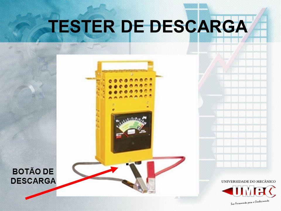 TESTER DE DESCARGA BOTÃO DE DESCARGA
