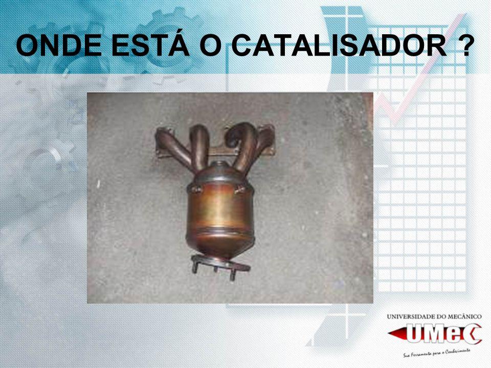 ONDE ESTÁ O CATALISADOR