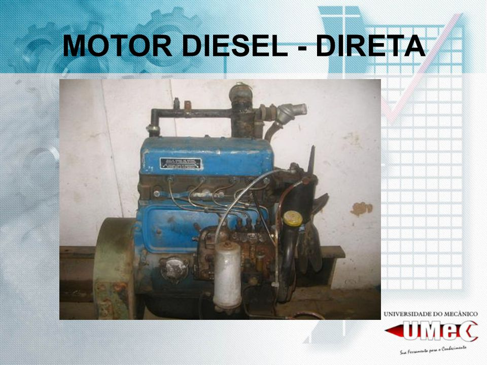 MOTOR DIESEL - DIRETA