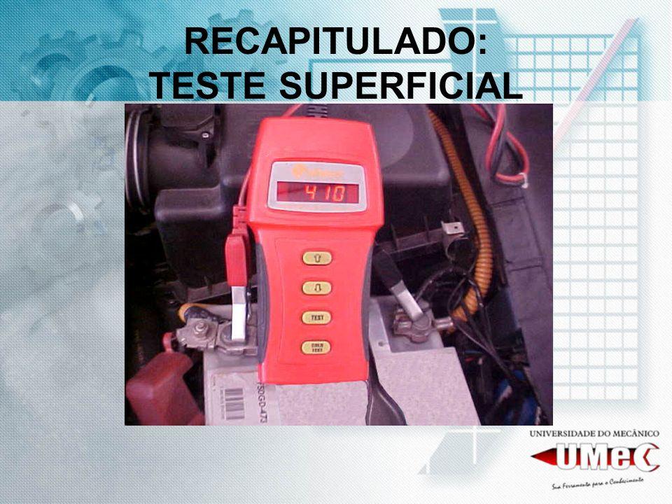 RECAPITULADO: TESTE SUPERFICIAL