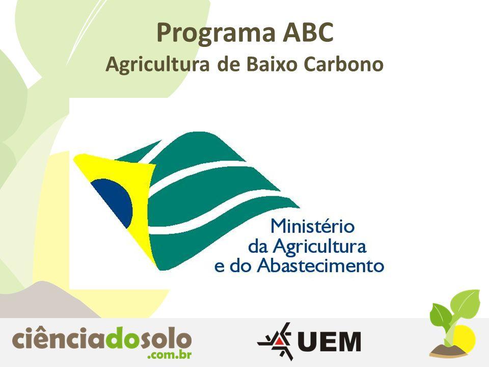 Programa ABC Agricultura de Baixo Carbono