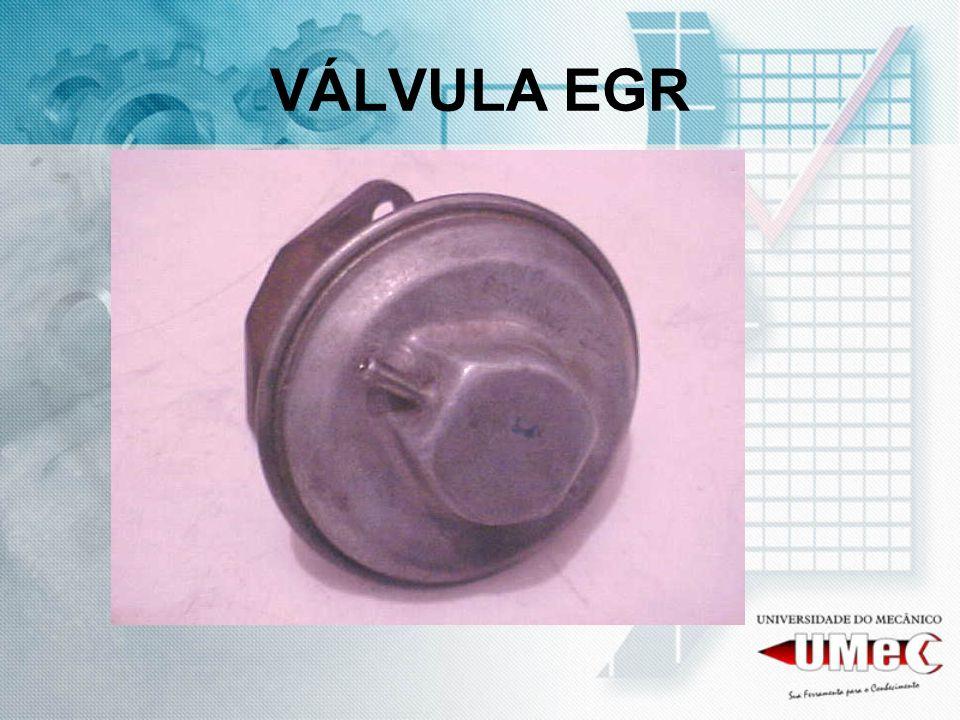 COMO FUNCIONA A EGR pode ou não ter um controle eletrônico via ECU da injeção eletrônica, ou simplesmente ter acionamento via depressão (linha de vácuo) do motor.