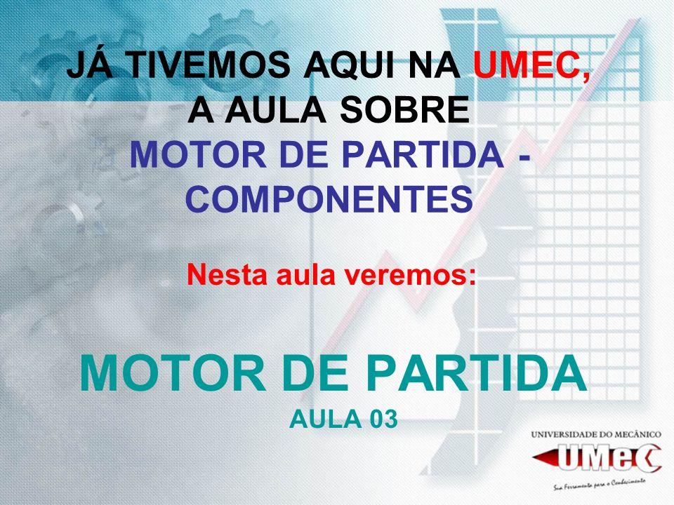 RECAPITULANDO: MOTOR DE PARTIDA