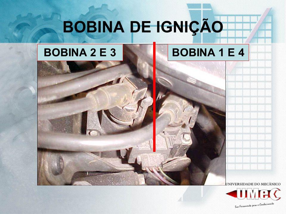 BOBINA DE IGNIÇÃO BOBINA 2 E 3BOBINA 1 E 4