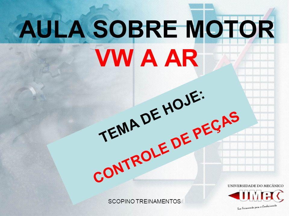 O DESGASTE NOS MOTORES VW A AR, DEVE-SE OBSERVAR BEM AS CAMISAS QUE SÃO ALETADAS E INDIVIDUAIS.