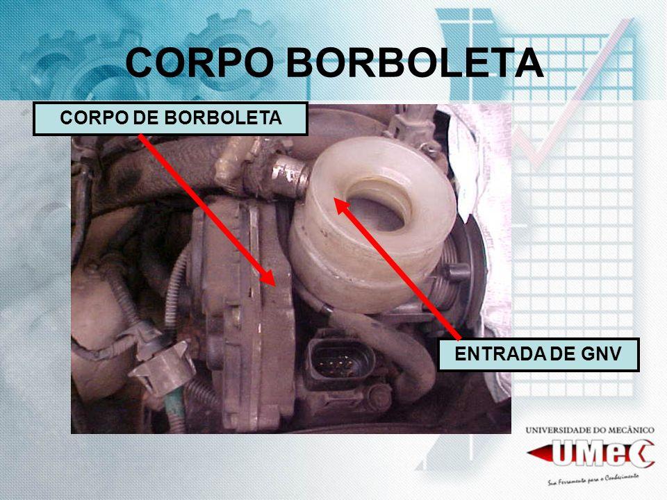 CORPO BORBOLETA CORPO DE BORBOLETA ENTRADA DE GNV