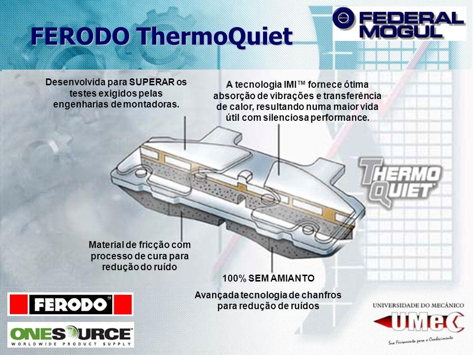 A tecnologia IMI fornece ótima absorção de vibrações e transferência de calor, resultando numa maior vida útil com silenciosa performance. Desenvolvid