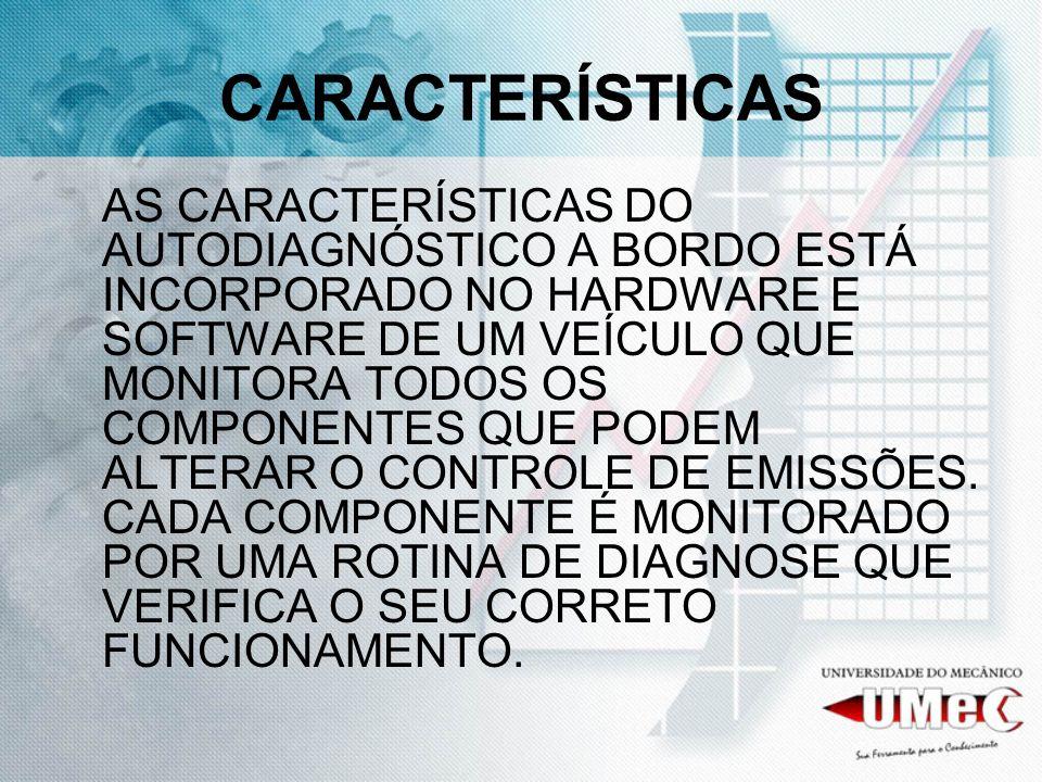 EOBD European On Board Diagnostics DIAGNÓSTICO A BORDO – EUROPEU É UMA VARIAÇÃO EUROPÉIA DO OBD II É MAIS SOFISTICADO, POIS UTILIZA MAPAS DE ENTRADA DOS SENSORES BASEADAS NA OPERAÇÃO DO MOTOR, OU SEJA, PODE SUBSTITUIR OS VALORES DO SENSOR EM CASO DE FALHA DO MESMO.