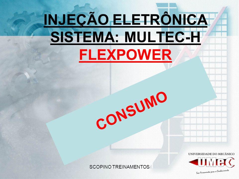 SCOPINO TREINAMENTOS INJEÇÃO ELETRÔNICA SISTEMA: MULTEC-H FLEXPOWER CONSUMO