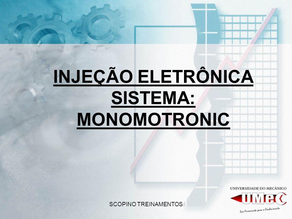 SCOPINO TREINAMENTOS INJEÇÃO ELETRÔNICA SISTEMA: MONOMOTRONIC