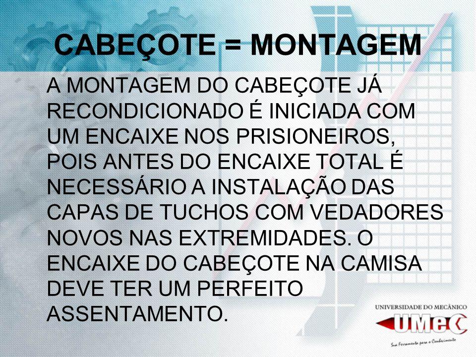 ENCAIXE DO CABEÇOTE