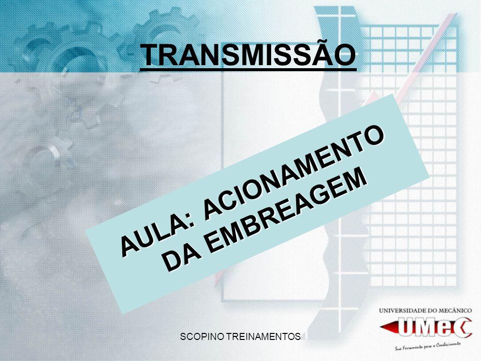 SCOPINO TREINAMENTOS TRANSMISSÃO AULA: ACIONAMENTO DA EMBREAGEM