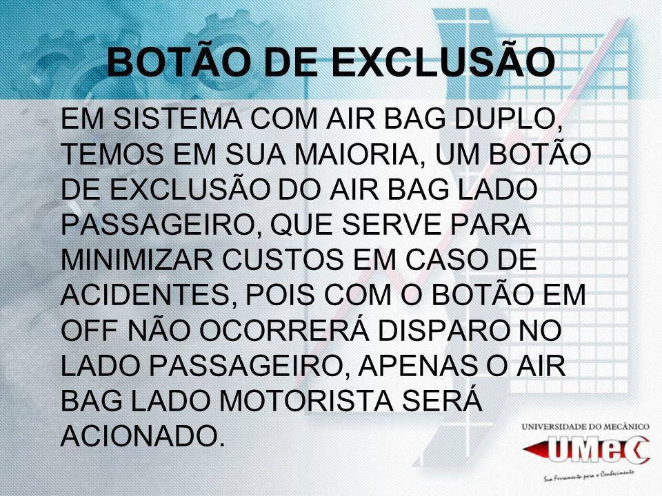 CHAVE DE EXCLUSÃO