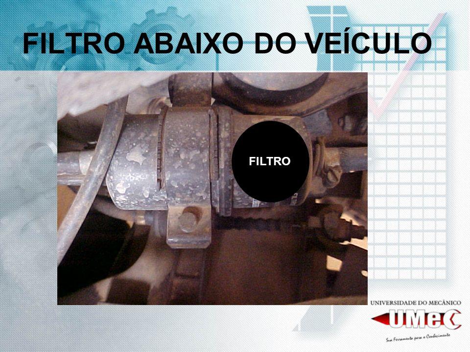 FILTRO ABAIXO DO VEÍCULO FILTRO