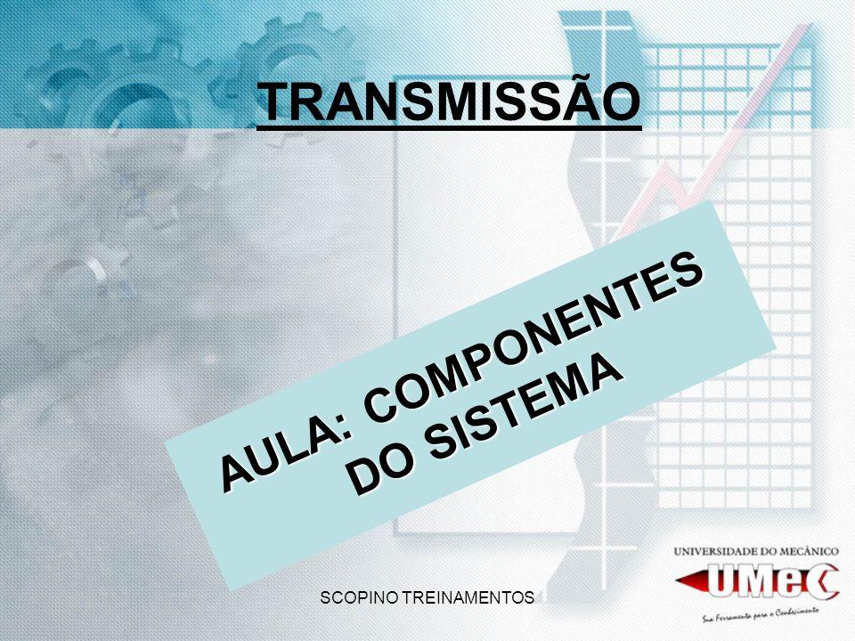 SCOPINO TREINAMENTOS TRANSMISSÃO AULA: COMPONENTES DO SISTEMA