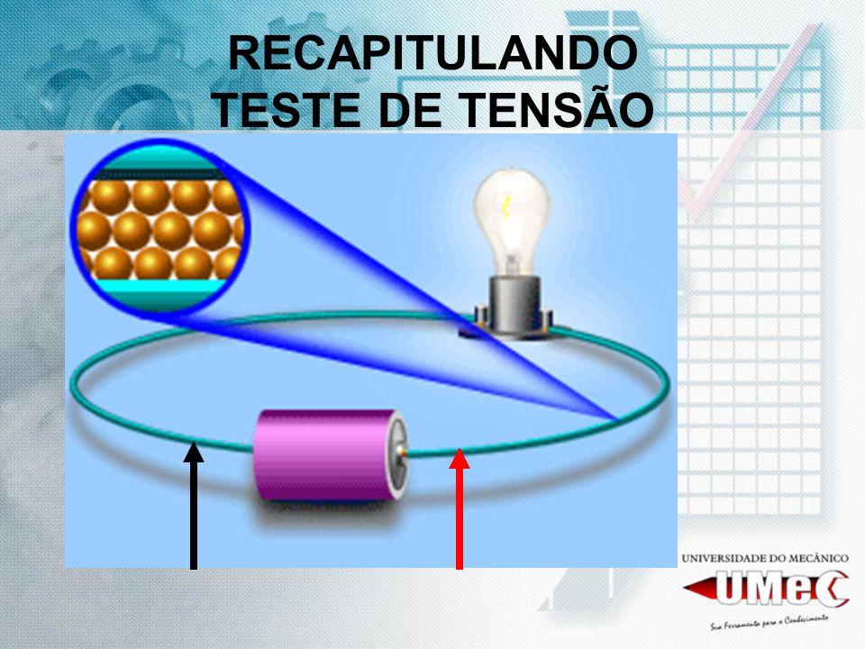 RECAPITULANDO TESTE DE TENSÃO