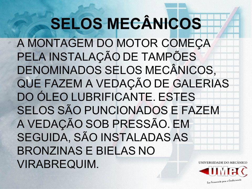 SELOS MECÂNICOS