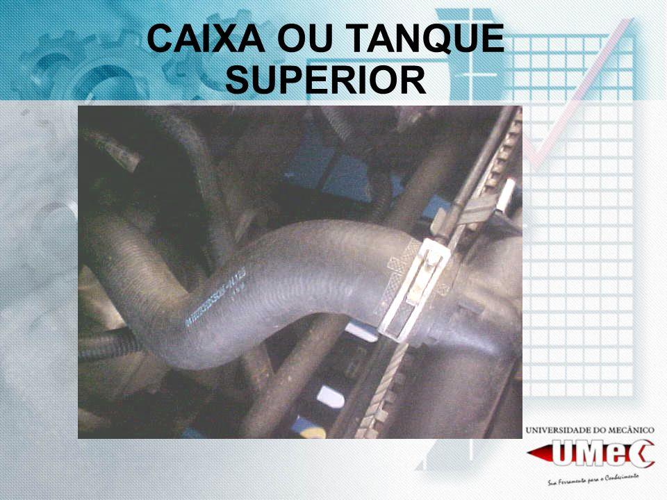 CAIXA OU TANQUE SUPERIOR