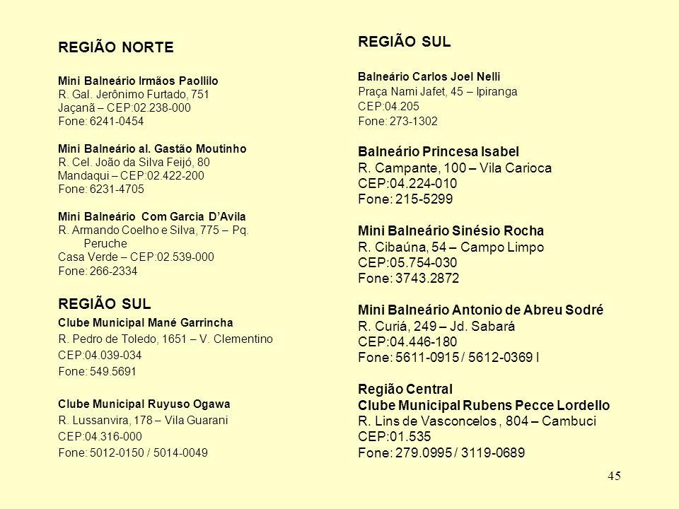 45 REGIÃO NORTE Mini Balneário Irmãos Paollilo R.Gal.