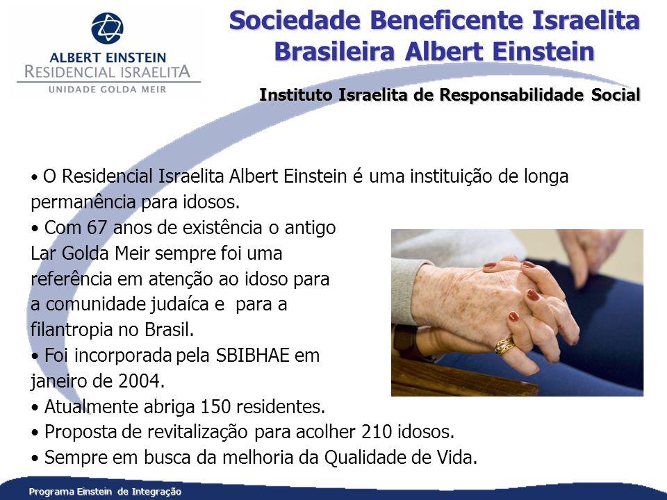 O Residencial Israelita Albert Einstein é uma instituição de longa permanência para idosos.