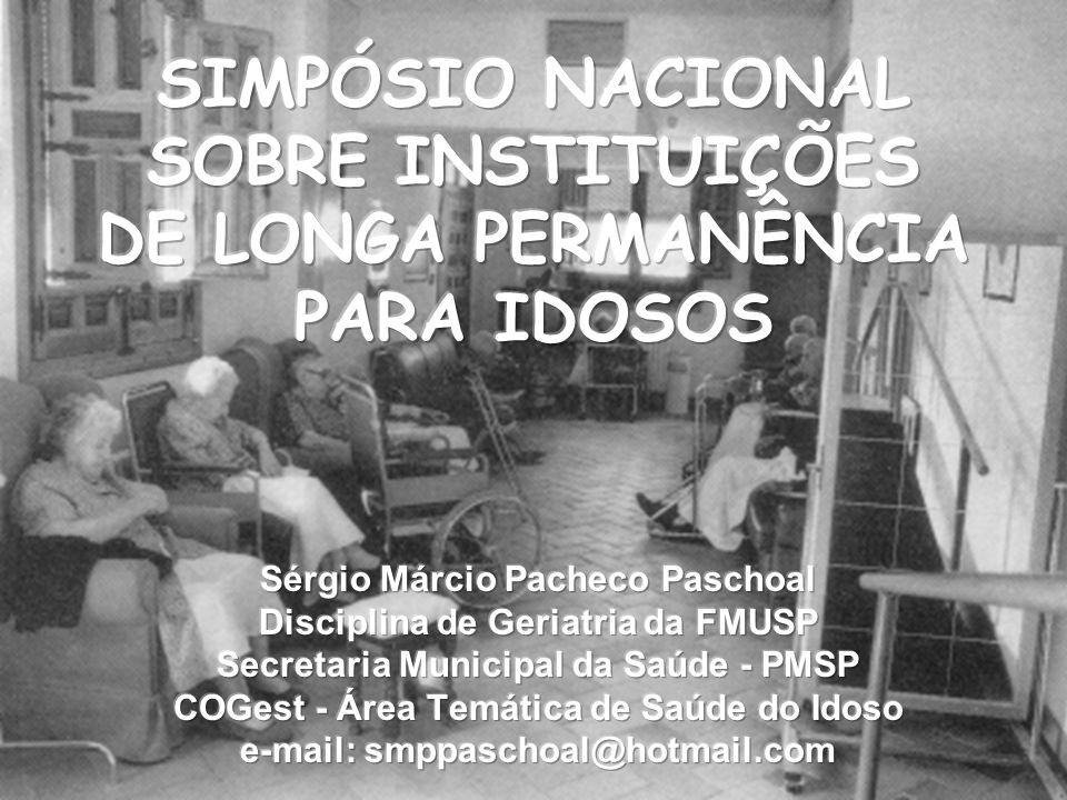 Novo Paradigma Deve-se reconhecer as contribuições dos idosos frágeis, doentes e vulneráveis e garantir seus direitos de atenção e segurança