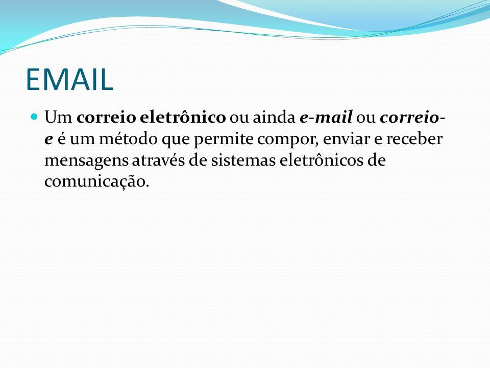 Um correio eletrônico ou ainda e-mail ou correio- e é um método que permite compor, enviar e receber mensagens através de sistemas eletrônicos de comu