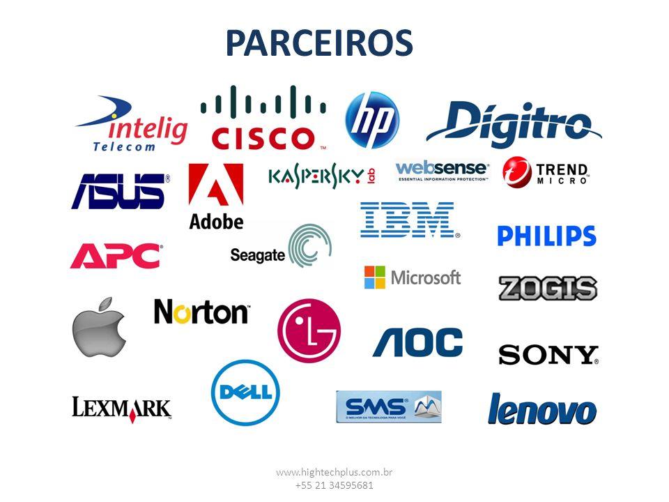 PARCEIROS www.hightechplus.com.br +55 21 34595681