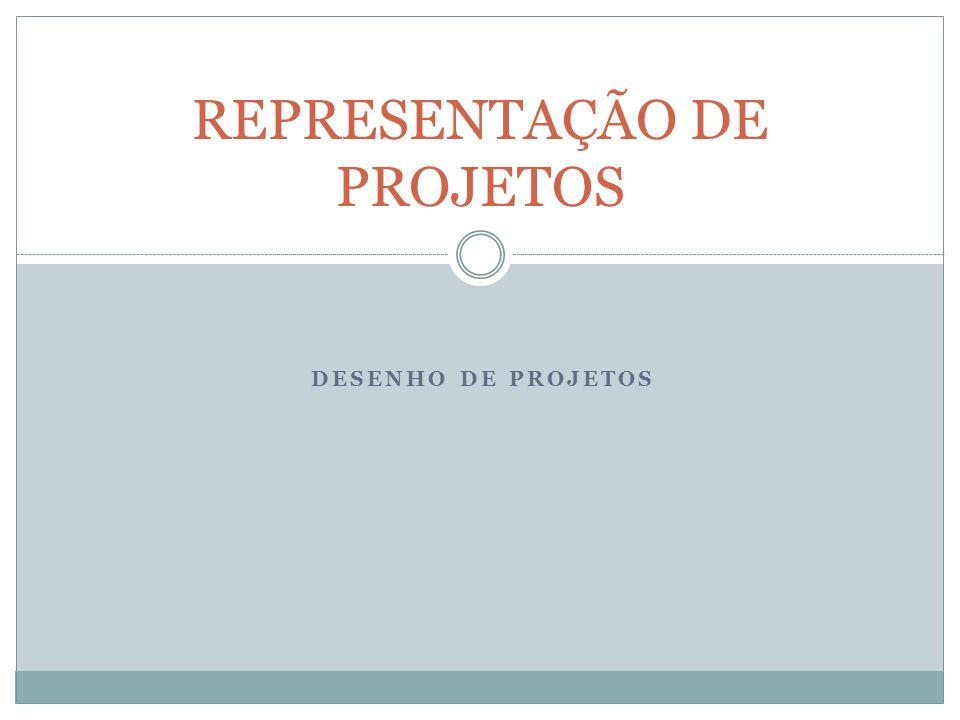 DESENHO DE PROJETOS REPRESENTAÇÃO DE PROJETOS