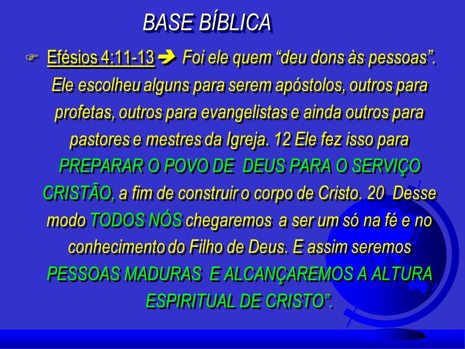 Deus concebeu a sua Igreja (família), de tal forma que cada novo membro da célula tenha alguém que cuide dele; Deus concebeu a sua Igreja (família), d