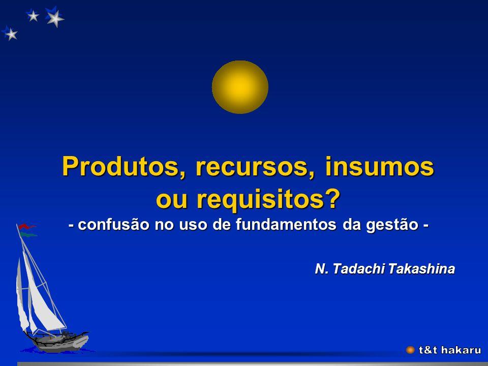 Gestão&Processo (Tadachi-03.2K) 21 Abordagem por processo Abordagem por processo (ISO/DIS 9001:2000, item 0.2) Quaisquer atividades que recebem entrad